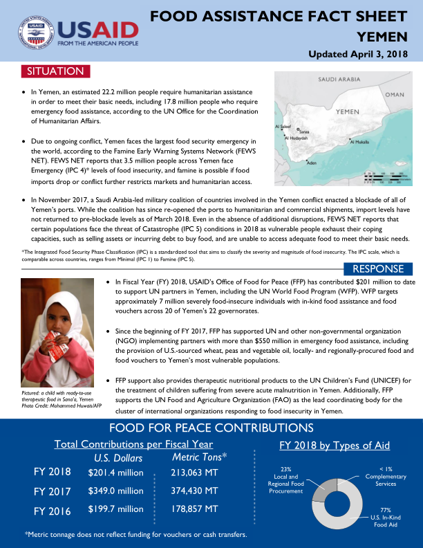1071899-FFP Fact Sheet_Yemen_04.04.2018