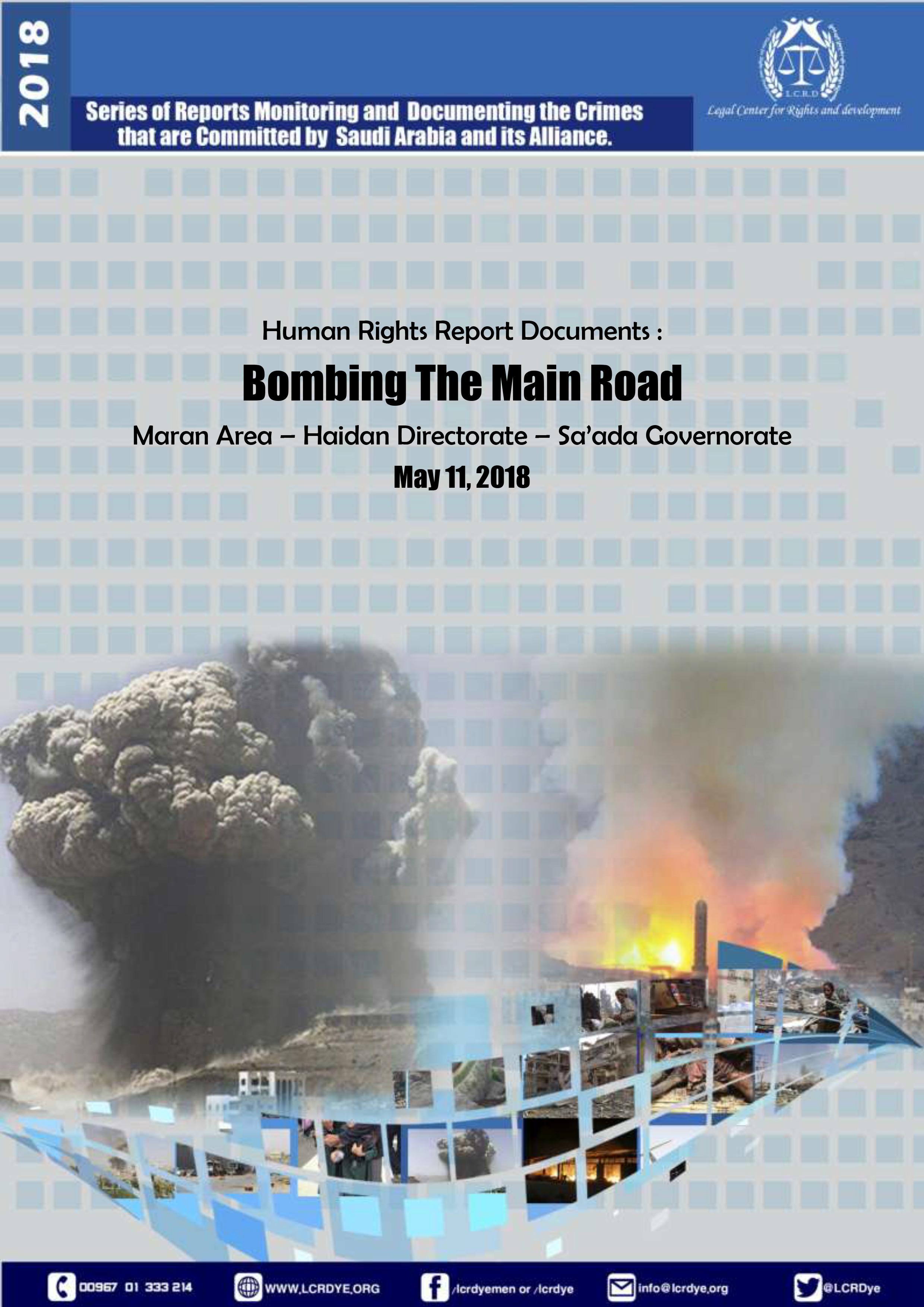 Bombing The Main Road – Haidan Sa'ada 11052018-1
