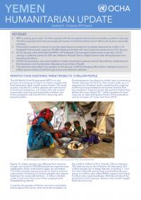 1236223-Yemen Humanitarian Update Covering 16 23 January 2019