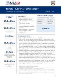 1239993-02.08.19- USG Yemen Complex Emergency Fact Sheet
