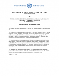 1240458-Joint statement on Yemen_United Nations