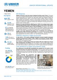 1254733-Yemen EXTERNAL Operational Update 1 March