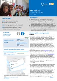 1255188-01 2019 WFP Yemen External Situation Report January